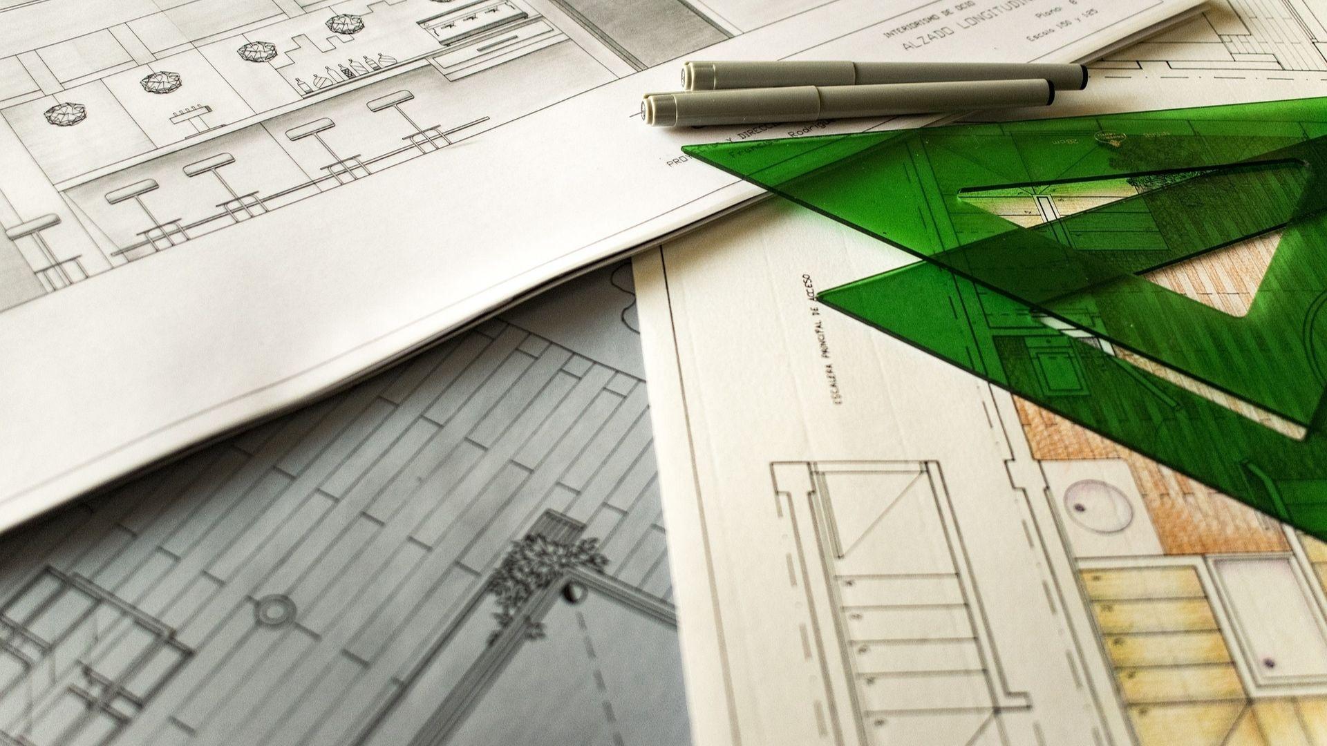 Nacrt za arhitekturu, ravnala i trokuti